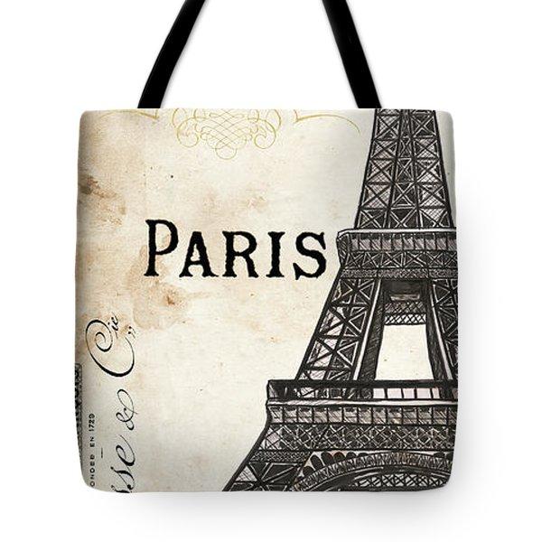 Paris, Ooh La La 1 Tote Bag by Debbie DeWitt