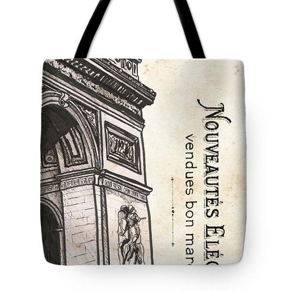 Paris, Ooh La La 2 Tote Bag
