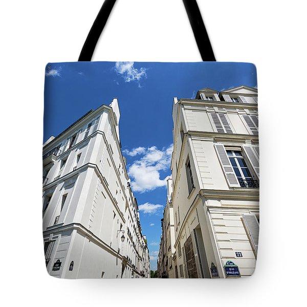 Tote Bag featuring the photograph Paris Photography - Quai D-orleans by Melanie Alexandra Price