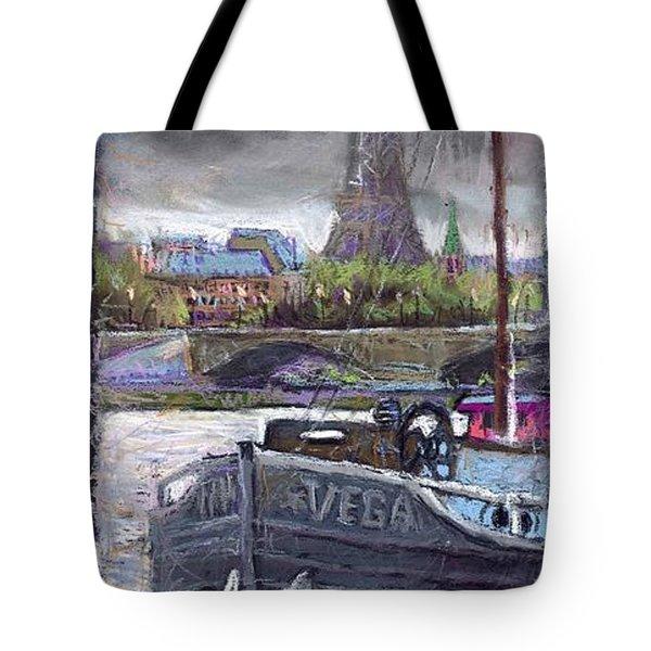 Paris Pont Alexandre IIi Tote Bag by Yuriy  Shevchuk
