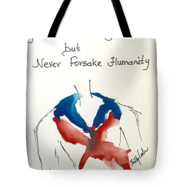 Tote Bag featuring the painting Paris, Pour Toi by Trilby Cole