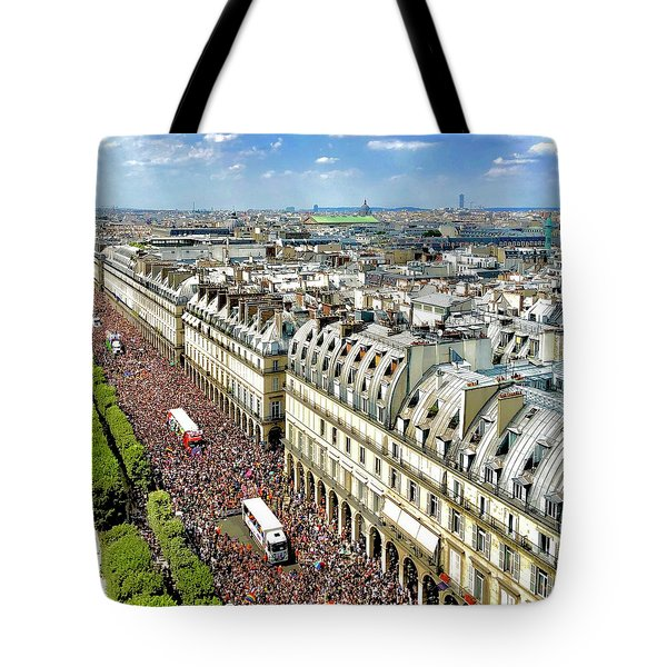 Paris Pride March 2018 Tote Bag