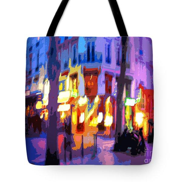 Paris Quartier Latin 02 Tote Bag