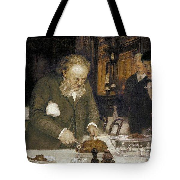 Paris: Restaurant, C1890 Tote Bag by Granger