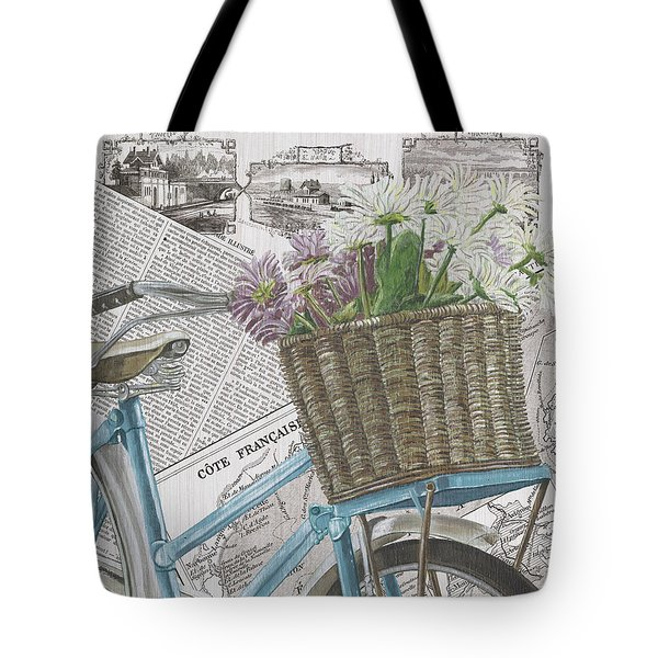 Paris Ride 1 Tote Bag