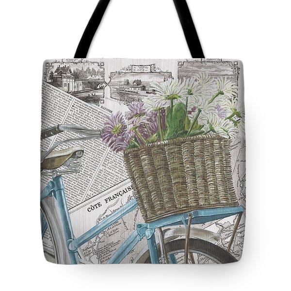 Paris Ride 1 Tote Bag