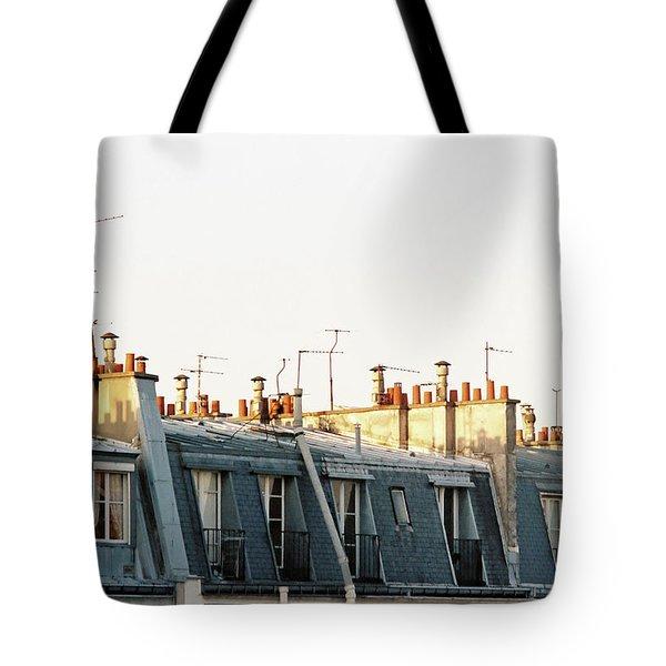 Paris Rooftops Tote Bag