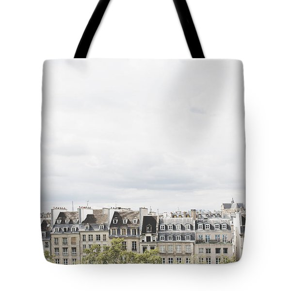 Paris Rooftops View From Centre Pompidou Tote Bag