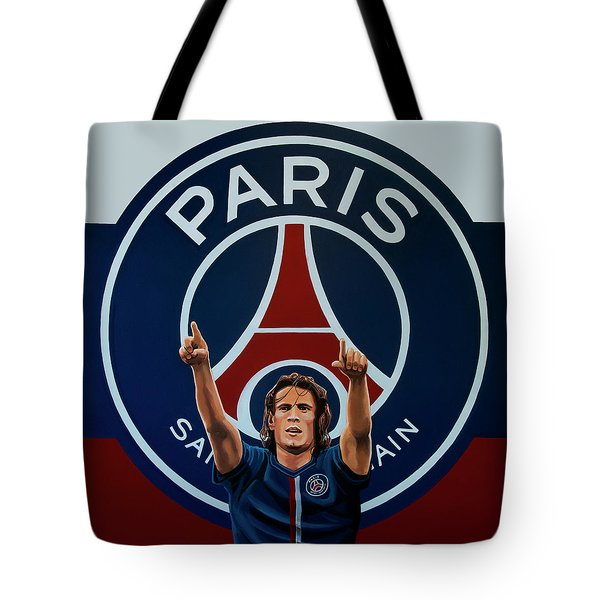 Paris Saint Germain Painting Tote Bag