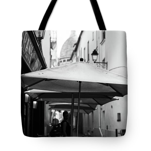 Paris Scene Tote Bag