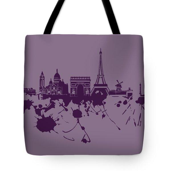 Paris Skyline.1 Tote Bag