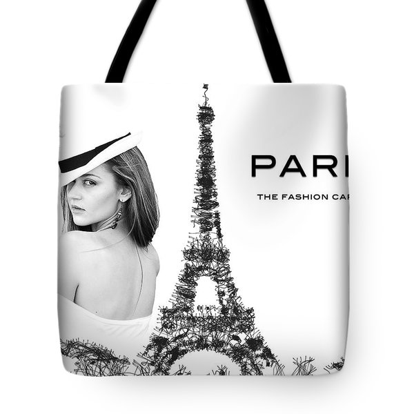 Paris The Fashion Capital Tote Bag