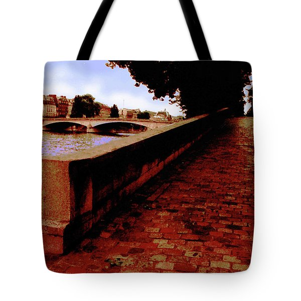 Paris - View Of The Seine Tote Bag