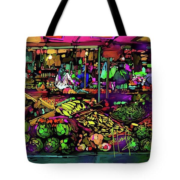 Parisian Market Tote Bag