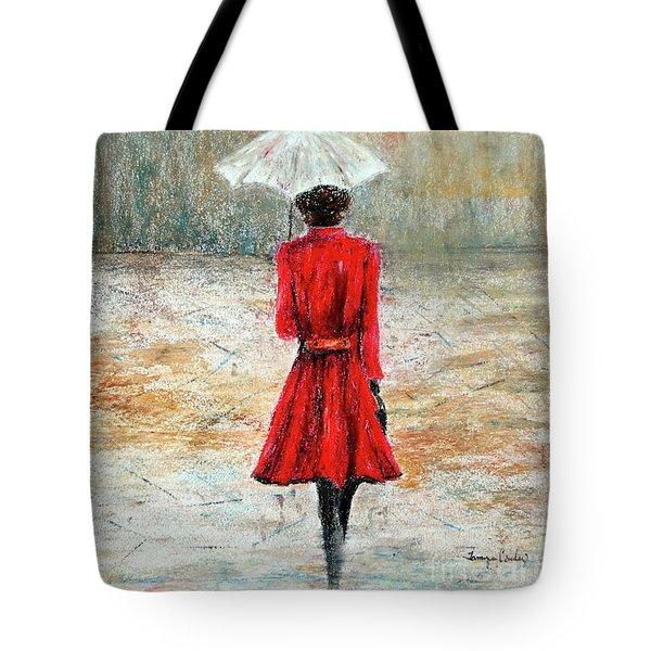 Parisian Stroll Tote Bag