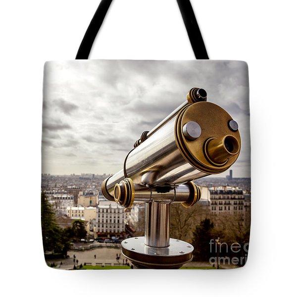 Parisian View Tote Bag