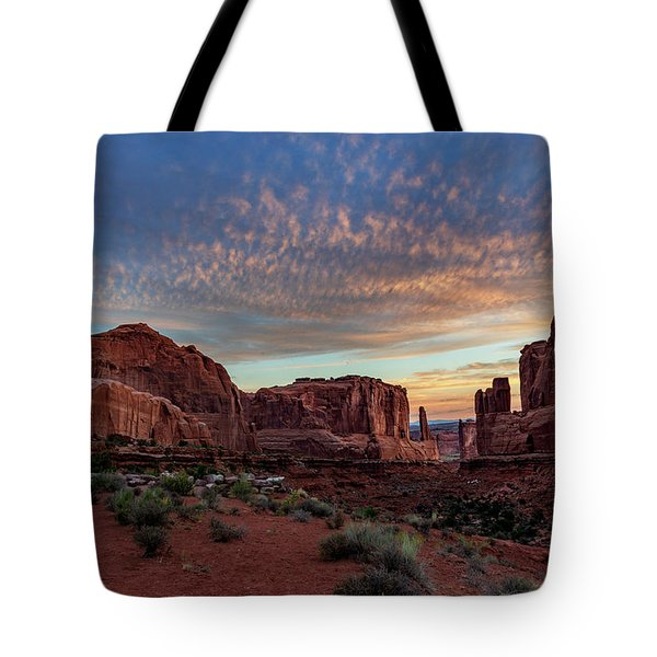 Park Avenue Sunrise Tote Bag