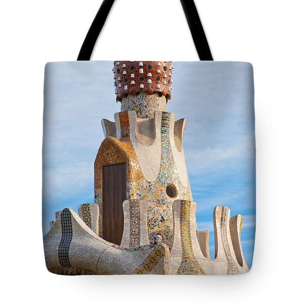 Park Guell Tower Tote Bag