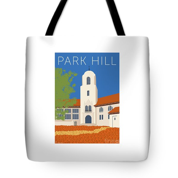 Park Hill Blue Tote Bag