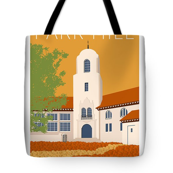 Park Hill Gold Tote Bag