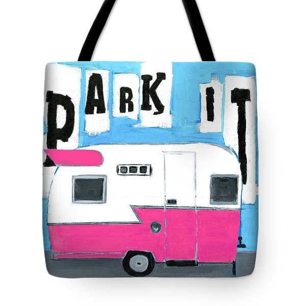 Park It- Pink Tote Bag