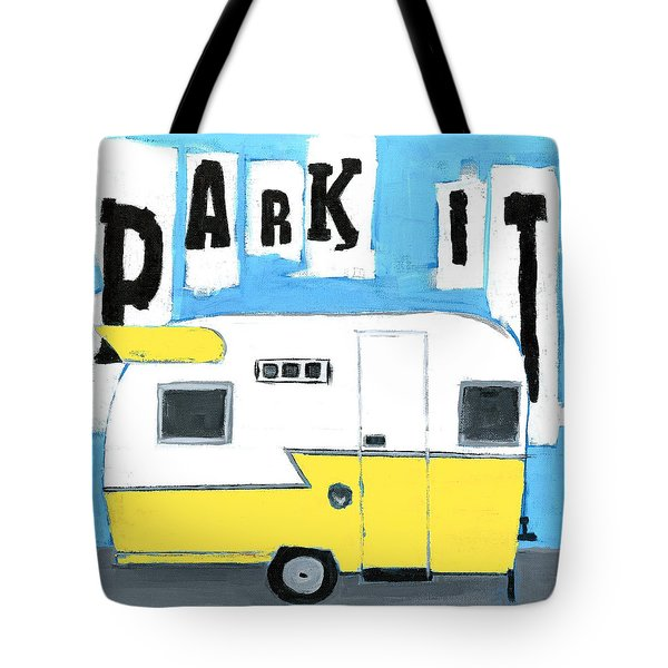Park It-yellow Tote Bag