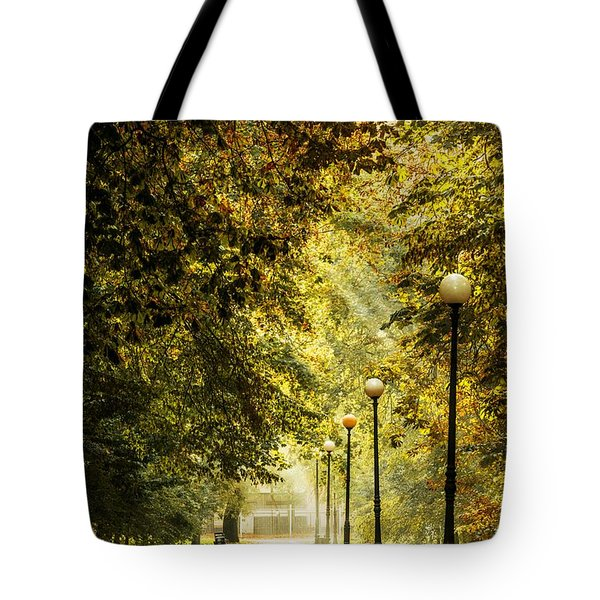 Park Lane Tote Bag by Jaroslaw Grudzinski