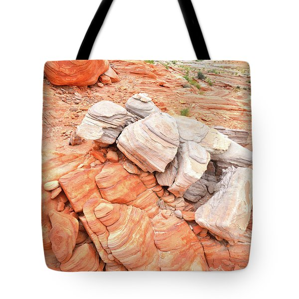 Tote Bag featuring the photograph Park Road Sandstone In Valley Of Fire by Ray Mathis