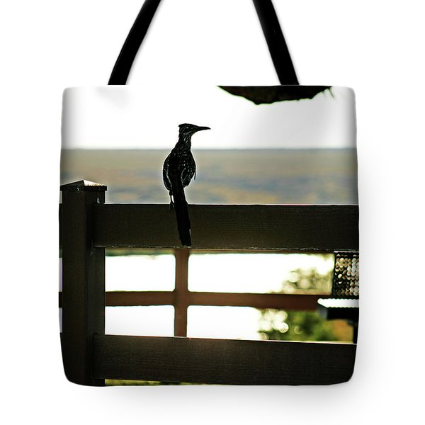 Park Roadrunner Tote Bag