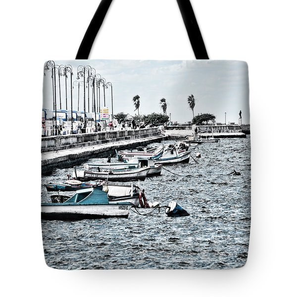 Parked And Waiting Tote Bag