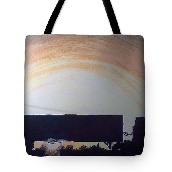 Parked At The End Of The Day Tote Bag