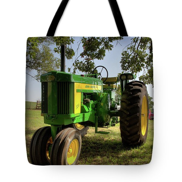 Parked John Deere 2 Tote Bag