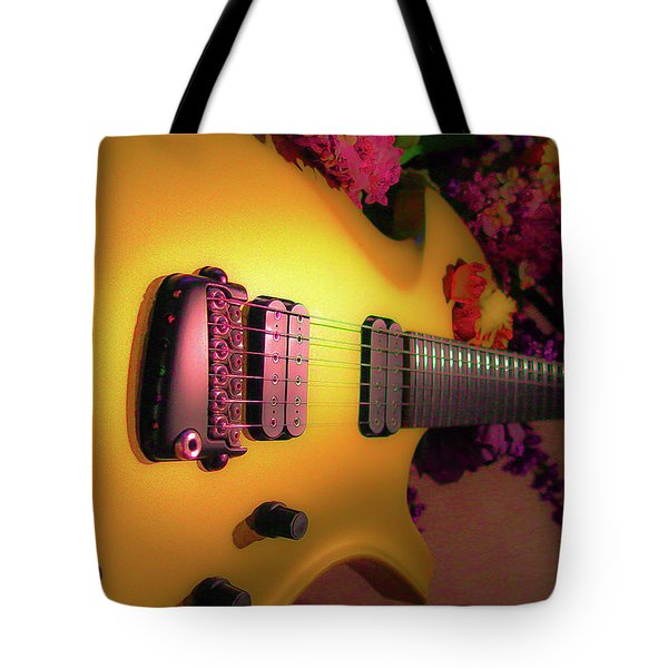 Parker Fly Guitar Hover Series Tote Bag