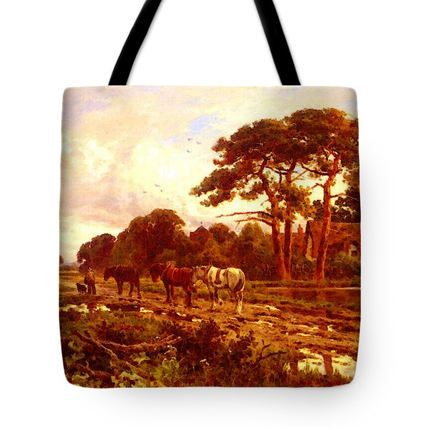Parker Henry H The End Of The Day Tote Bag