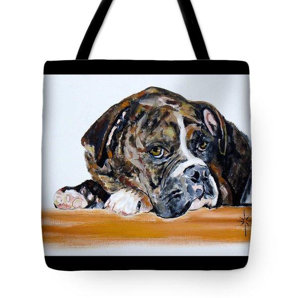 Parker  Tote Bag by Jodie Marie Anne Richardson Traugott          aka jm-ART