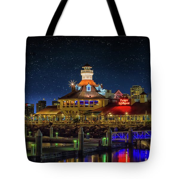 Parkers Lighthouse Tote Bag