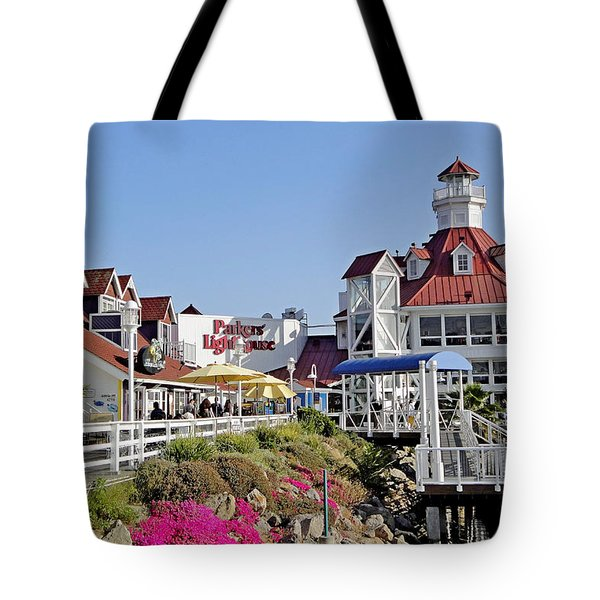 Parkers' Lighthouse Tote Bag