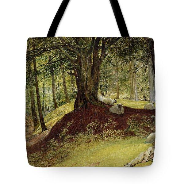 Parkhurst Woods Tote Bag by Richard Redgrave
