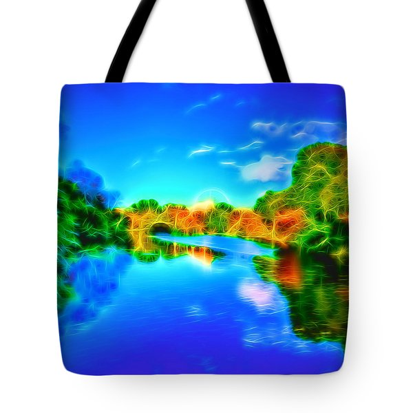 Parkland Symphony Tote Bag by Andreas Thust
