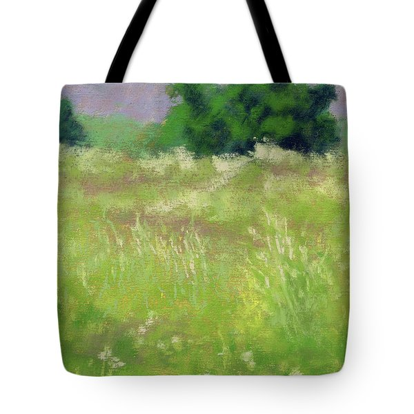 Tote Bag featuring the painting Parkway Spring by David King