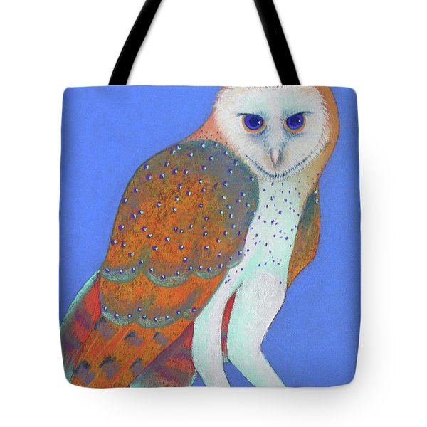 Parliament Of Owls Detail 1 Tote Bag by Tracy L Teeter
