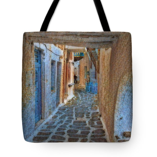 Paros Beauty Island Greece  Tote Bag