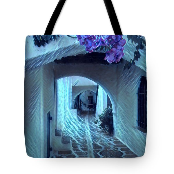 Paros Island Beauty Tote Bag