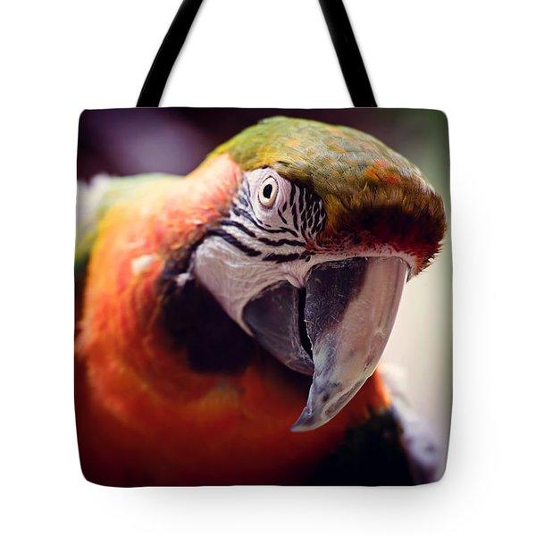 Parrot Selfie Tote Bag by Fbmovercrafts