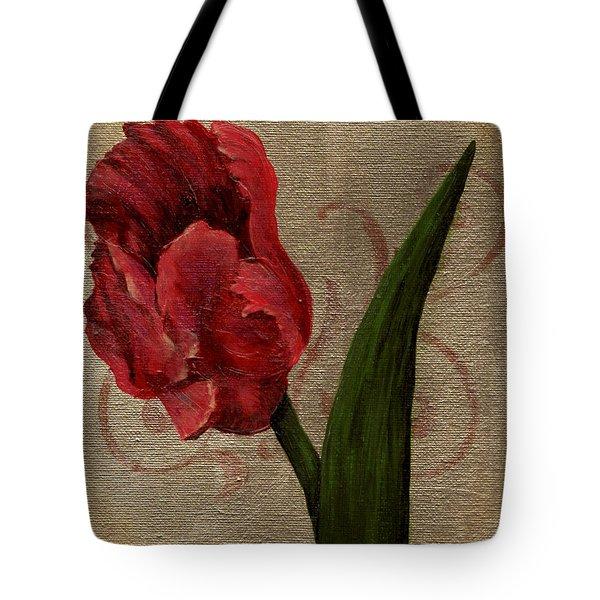 Parrot Tulip I Tote Bag