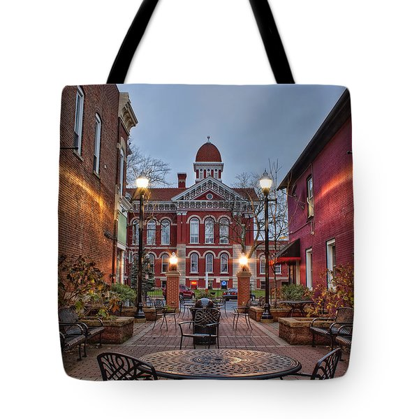 Parry Court Tote Bag