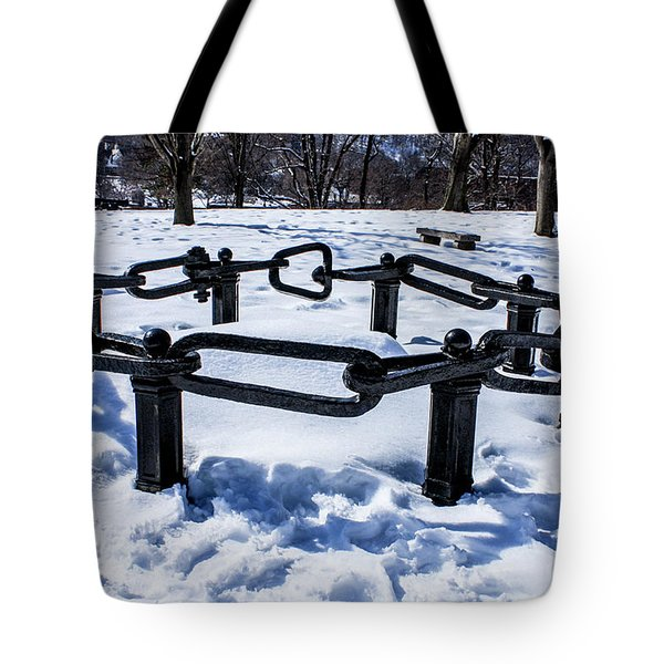 Part Of The Great Chain At West Point Military Academy Tote Bag