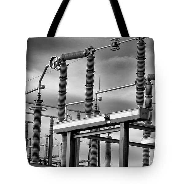 Part Of The Grid Tote Bag by Bob Orsillo