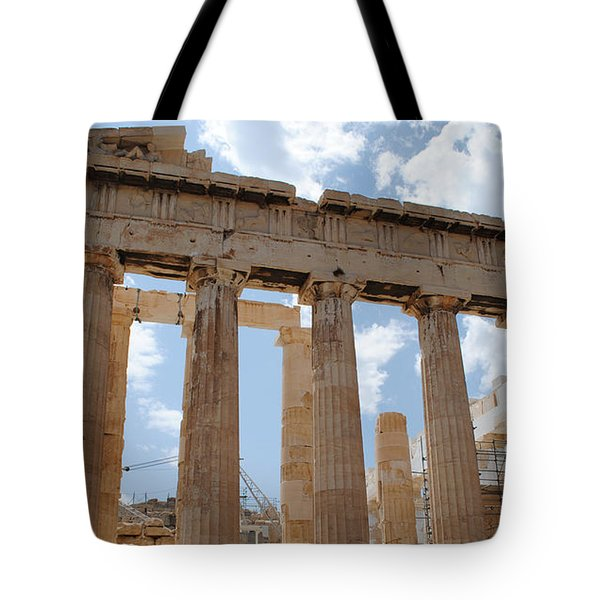 Parthenon Tote Bag