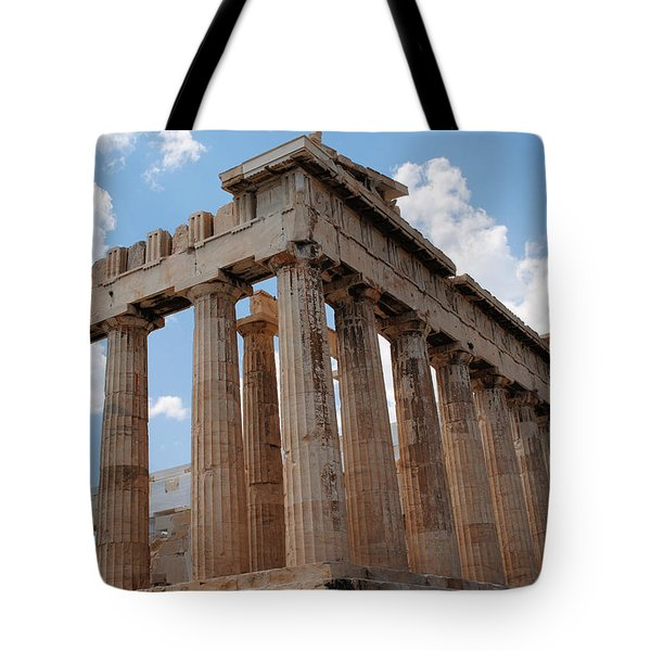 Parthenon Side View Tote Bag